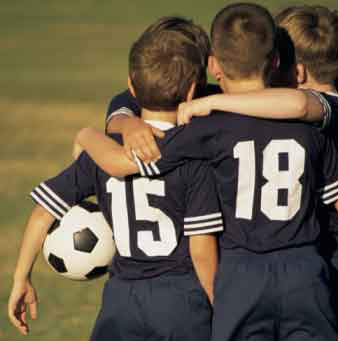 soccer huddle collaborative